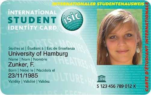 Get your International Student Identity Card (ISIC) before you leave ...