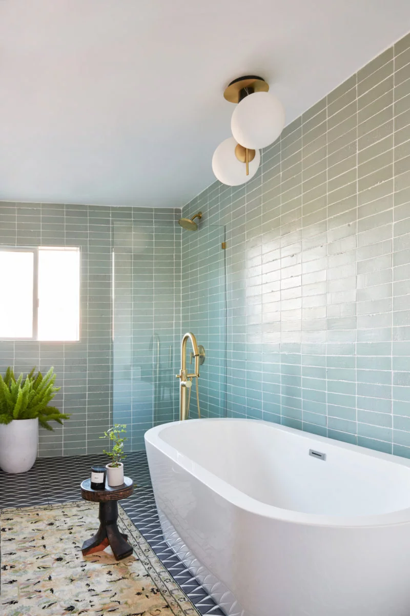 A Vintage Splendor Master Bathroom Tiles Reveal | Modern ...