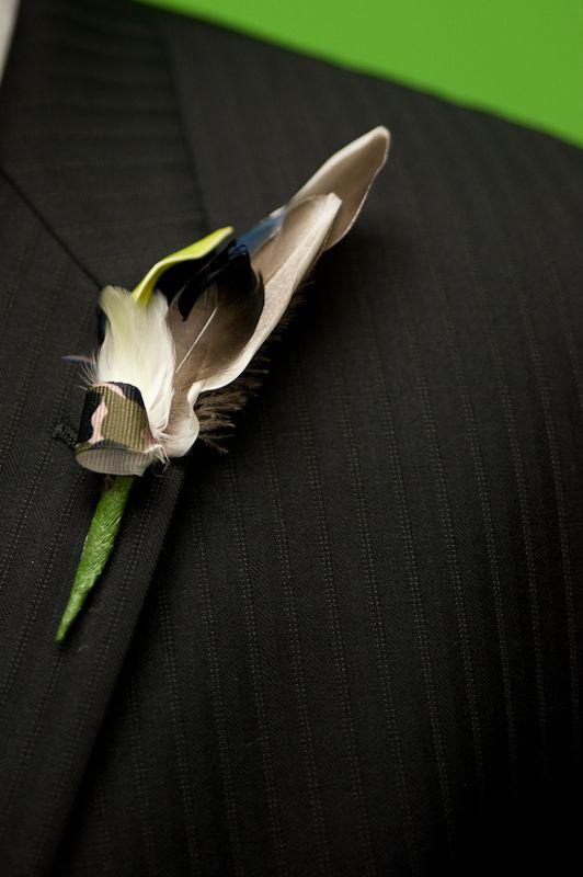 Duck feather wedding