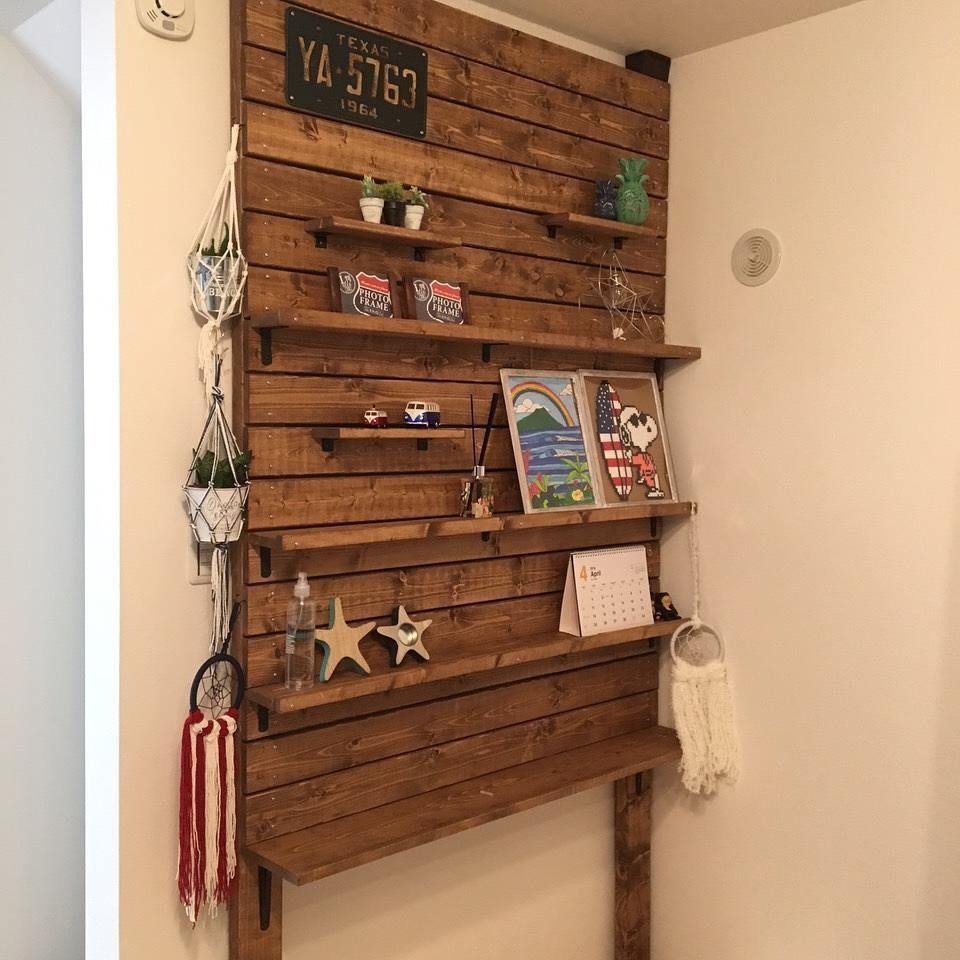 Pin By Chirine Khalaf On Home Interior: ディアウォールでの棚の作り方10選|本棚・ハンガーラック・間仕切りを賃貸物件でDIY