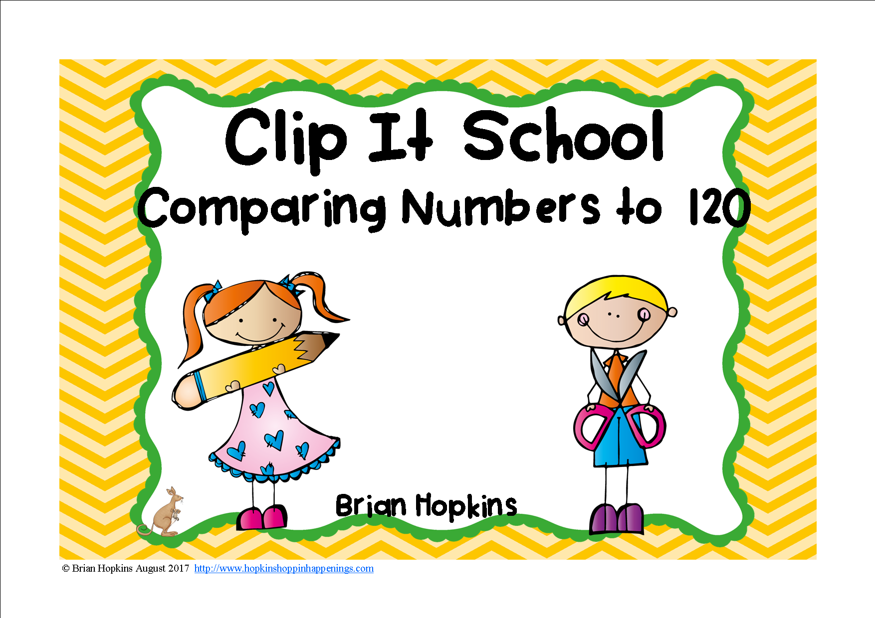 Clip It Comparing Numbers To 120 School