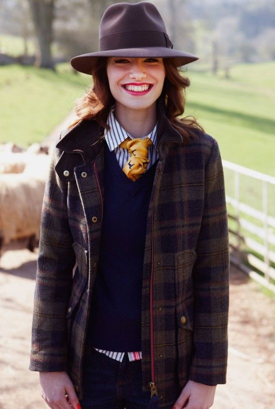 Navy Fieldcoat Womens Semi Fitted Tweed Coat Joules Uk Riding Outfit Fashion Tweed Coat
