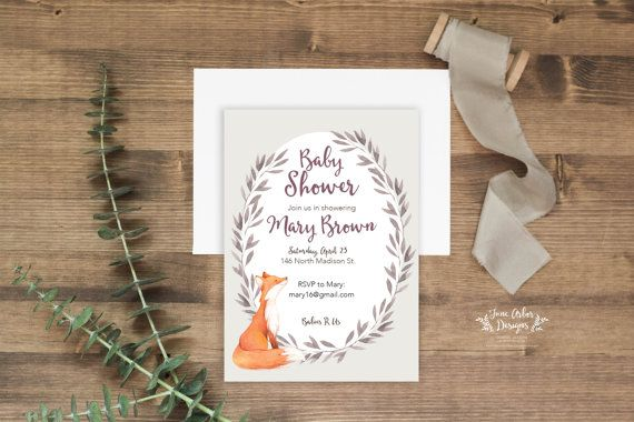 Little one on the way? Check out this Gender neutral woodland-themed baby shower…