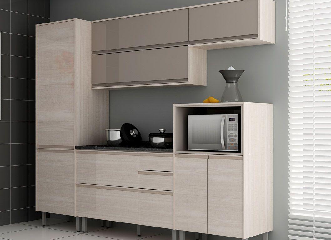 Cozinha Completa Itatiaia Bel Ssima De Madeira C 5 Pe As Cz05 Alt