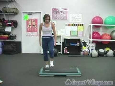 Basic Step Aerobics Moves The L Step Step Aerobics Exercise