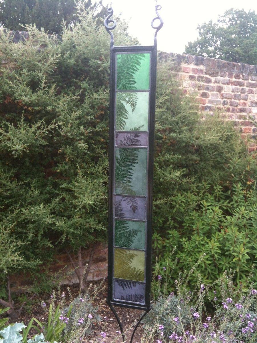 Marvelous Amanda Seljubac Stained Glass   Garden Panels