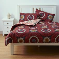 love this bedding but it's not 100% cotton