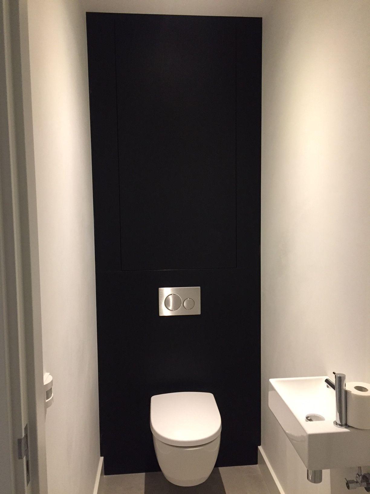 Achterwand Toilet Met Bergruimte Toilet Ontwerp Wc Inrichting Toilet