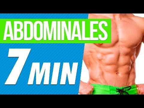 abdominales en casa - rutina de ejercicios en 7 minutos - youtube