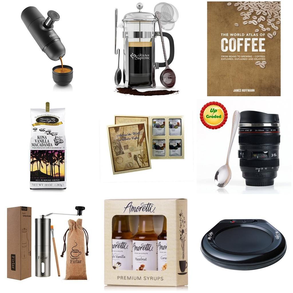 Coffee Lovers' Gift Basket Coffee lover gifts, Coffee