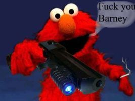 Pin By Weegee1992 On Barney Mlg Dank Memes Bad Cats Elmo