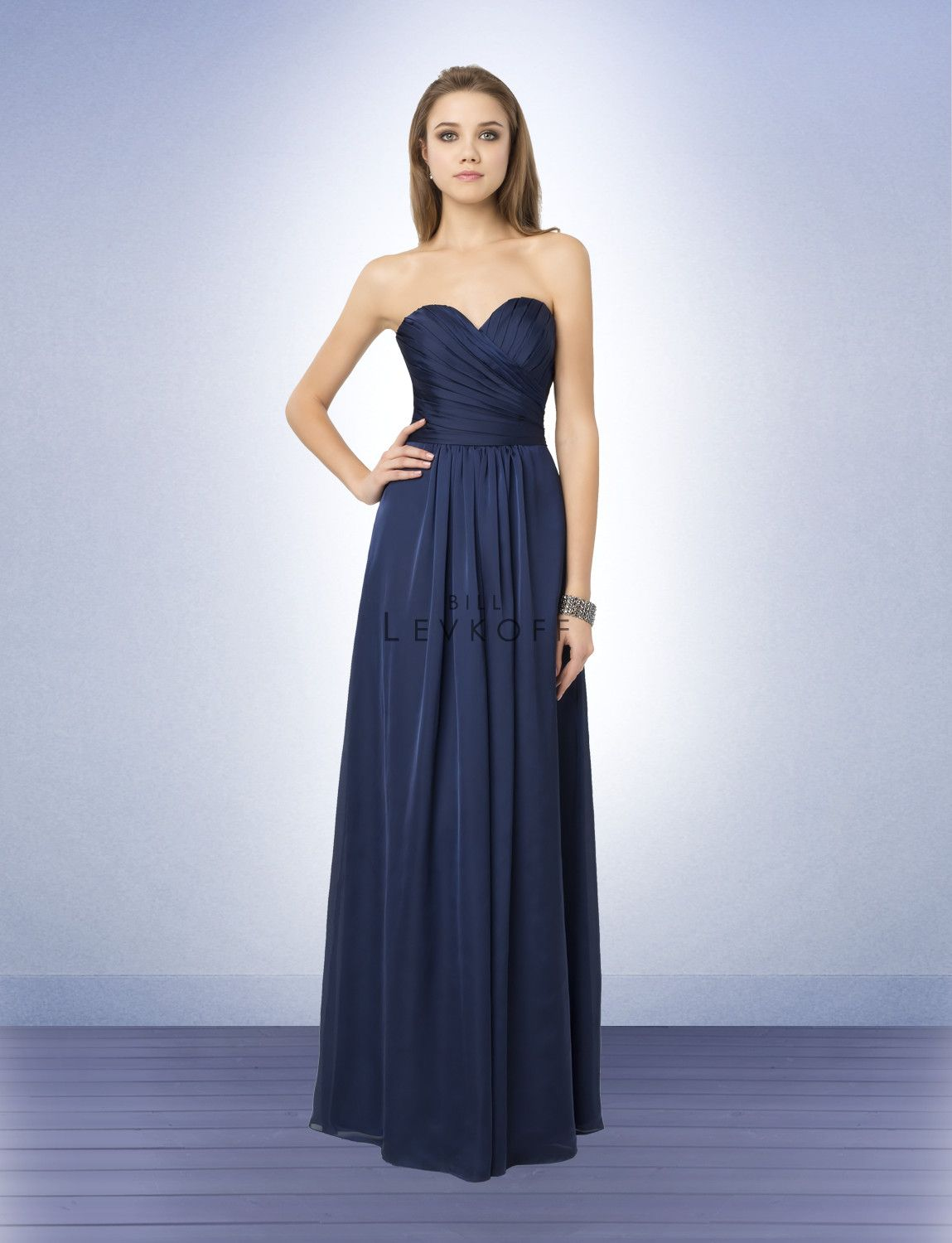 Bridesmaid dress style 790 satin chiffon gown with a sweetheart bridesmaid dress style 790 satin chiffon gown with a sweetheart neckline criss cross tucks and ombrellifo Choice Image