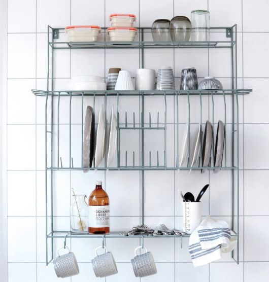 House Doctor metal plate rack