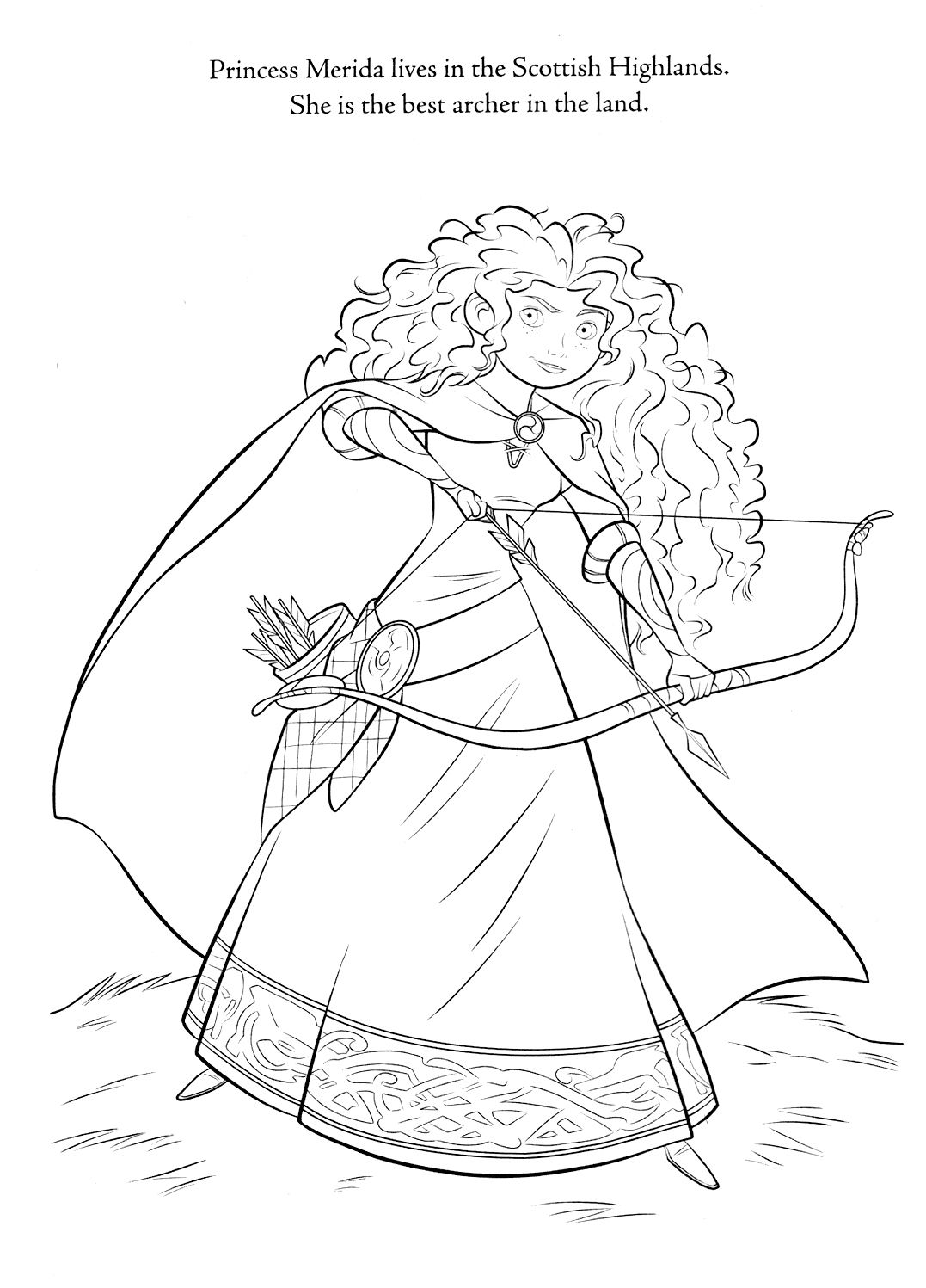 disney brave coloring pages | Cartoons and Anime | Pinterest | Adult ...