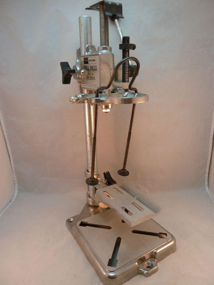 Sears Craftsman Drill Press Vintage Model 335 25926 Benchtop