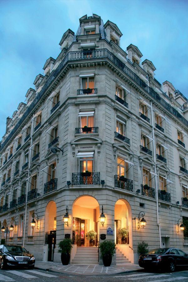 Luxury hotel interior design hotel balzac paris by angelo for Design hotel parigi