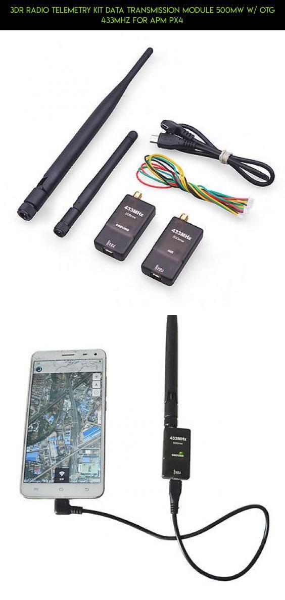 3DR Radio Telemetry Kit Data transmission Module 500MW w/ OTG 433MHZ