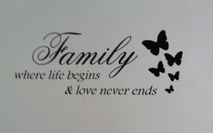 Images For > Family Where Life Begins And Love Never Ends