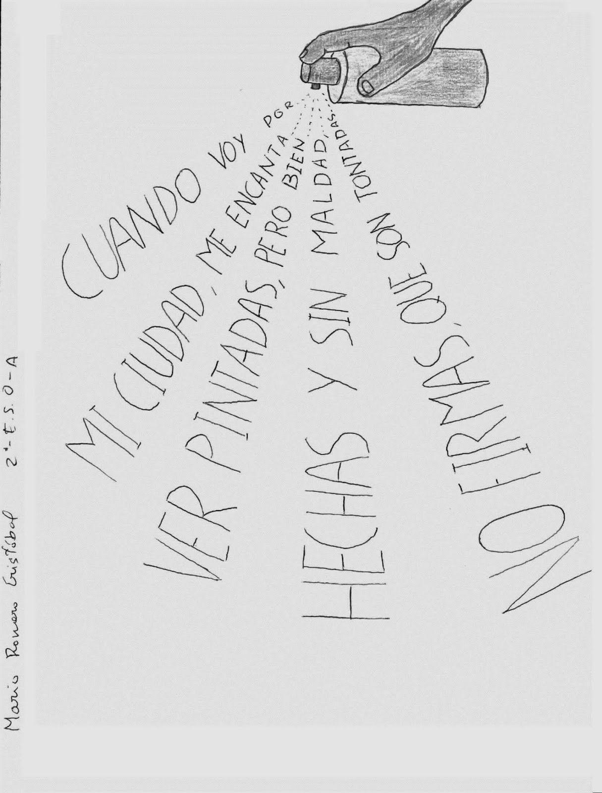 Capítulo II otra forma de escribir poemas Caligrama Poesía visual y ...