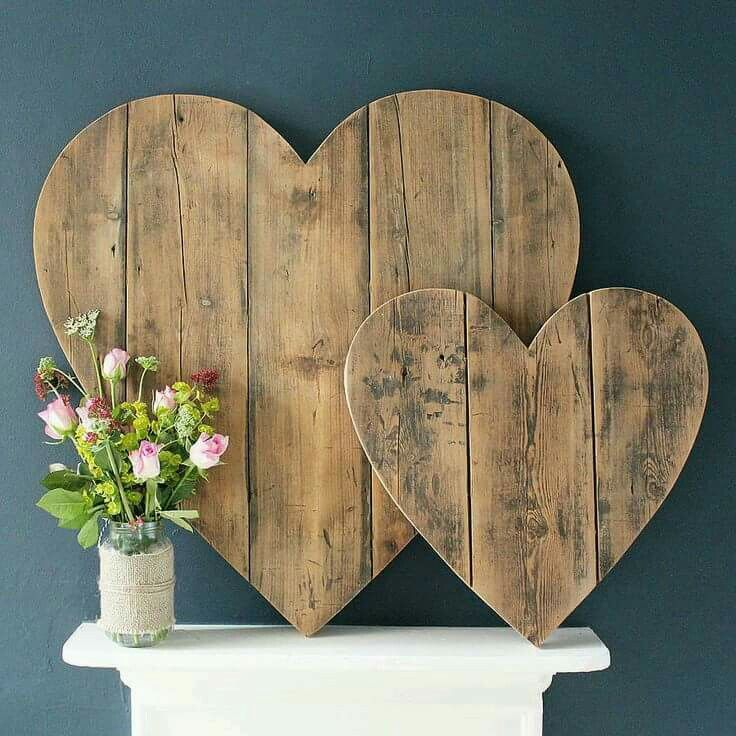 Pallet hearts
