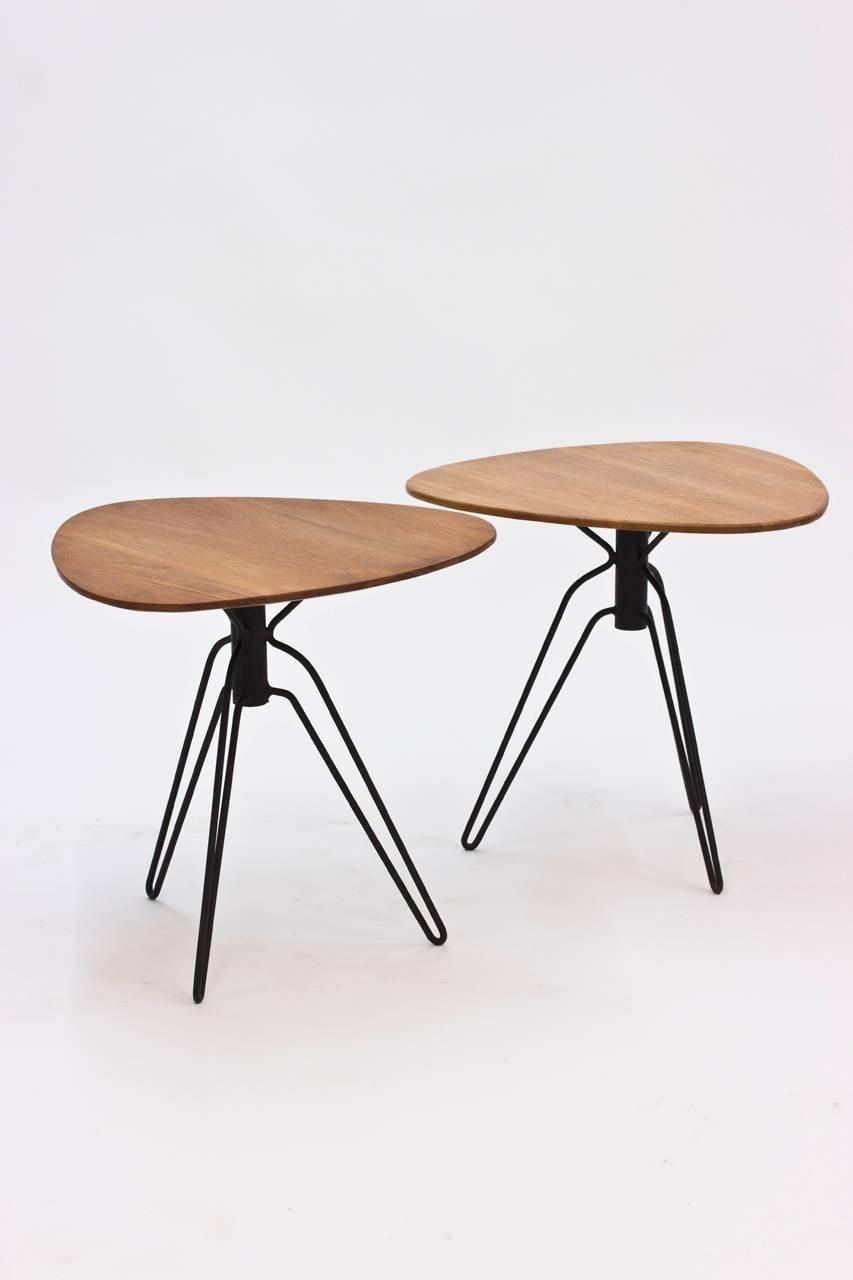 Pair Of End Tables By Hans Agne Jakobsson
