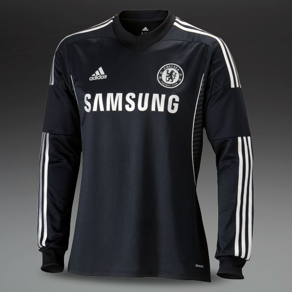 low priced 677ec 42f00 Football Shirts - adidas Chelsea 13/14 Third Replica Long ...