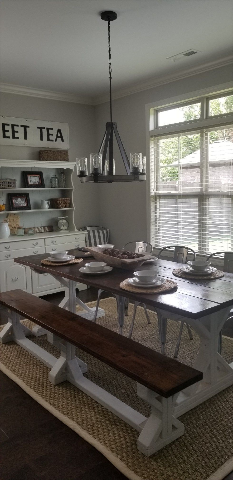 Breakfast area | Dining bench, New homes, Home decor