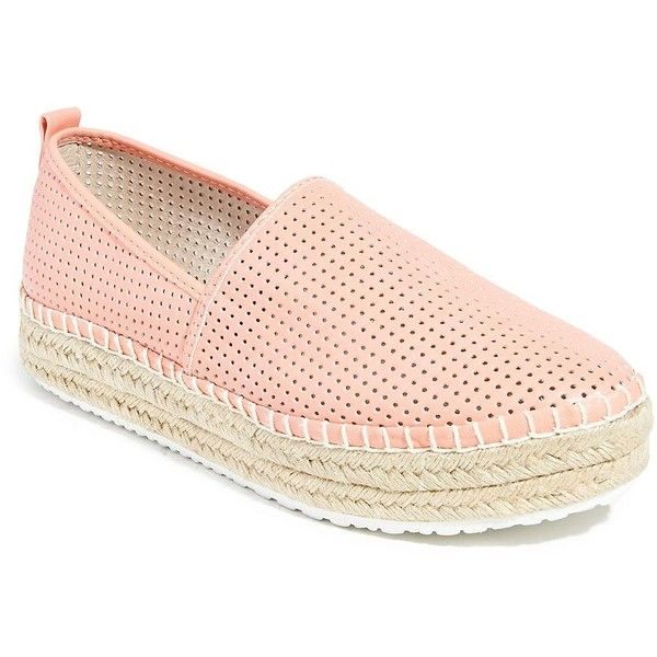 Steve Madden Perforated Faux Leather