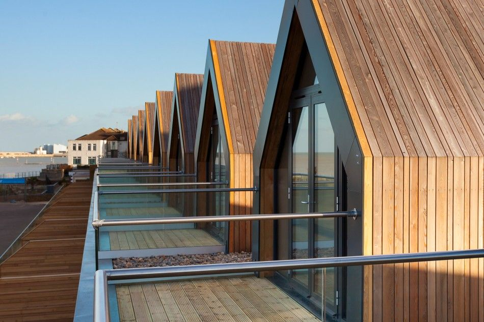 The Beach Houses Margate Kent The Modern House arquitectura