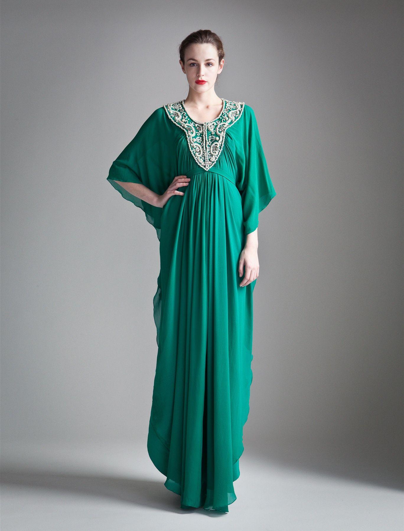 Long Pearl Kaftan | Long Kaftan Dress | Pinterest | Kaftan ...