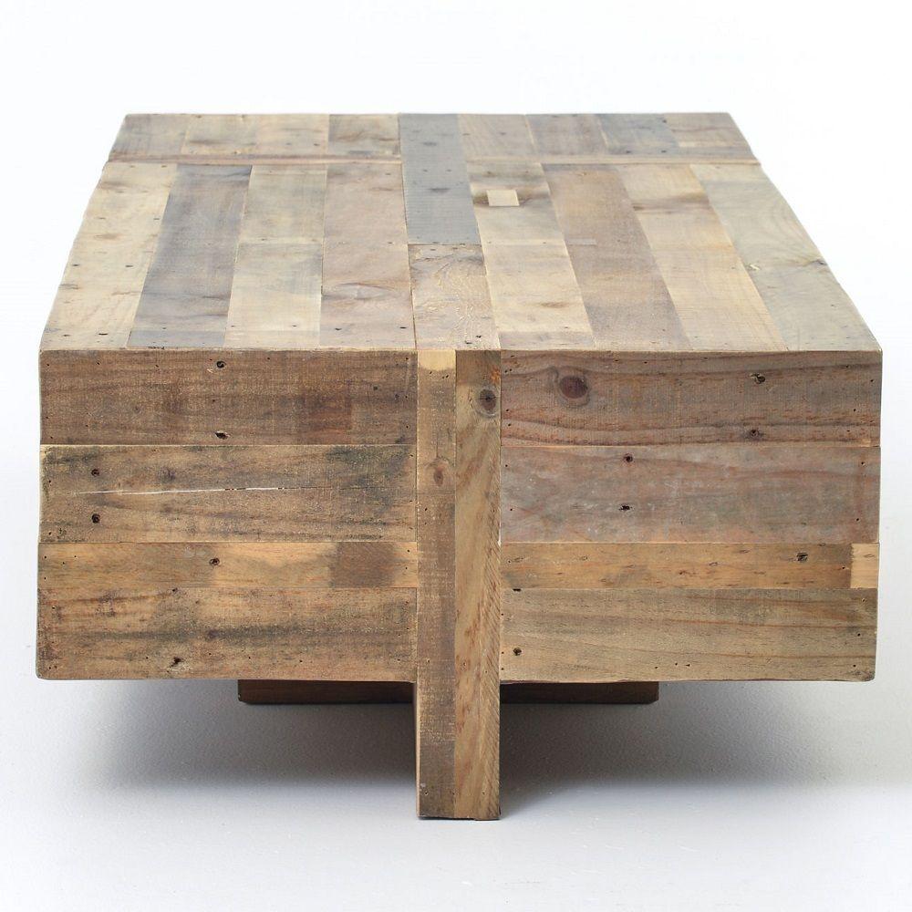 Angora Reclaimed Wood Block Rustic Coffee Table 68 Rustic Coffee Tables Coffee Table Geometric Coffee Table [ 1000 x 1000 Pixel ]