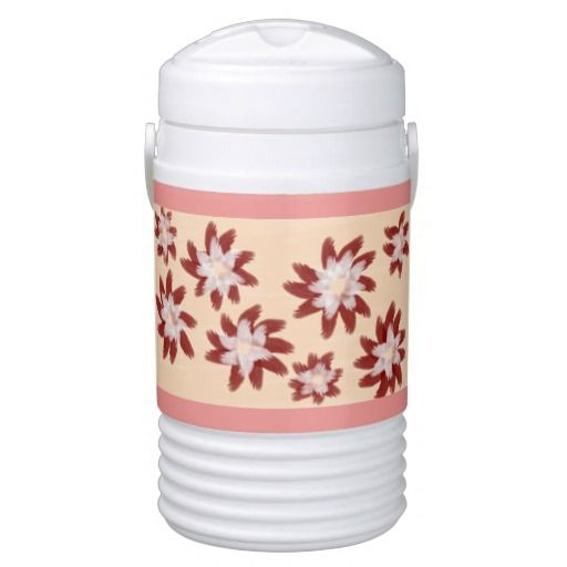 """ Flower Spinners"" Igloo Cooler"