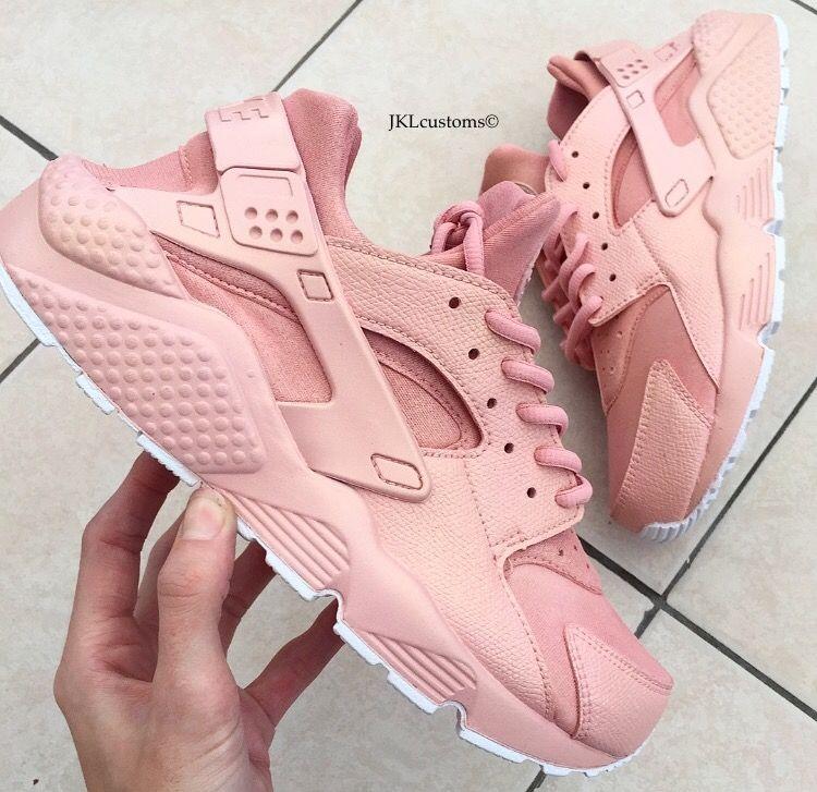 Nike Huarache Rosa Salmone