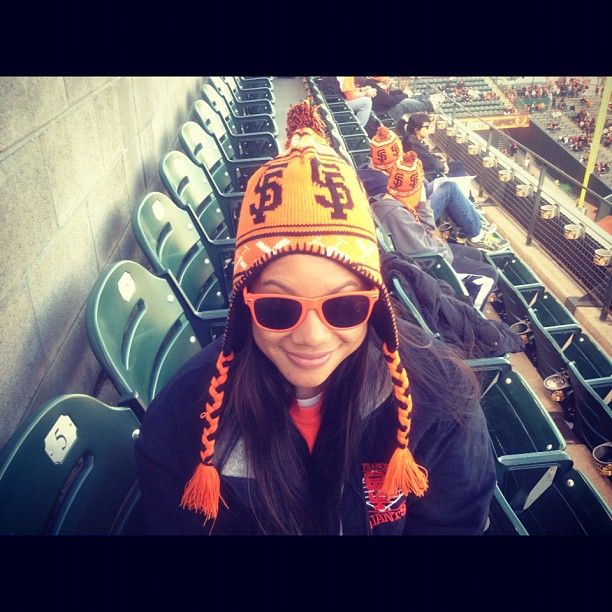 My niece dawning her Giants gear. - @calster1- #webstagram