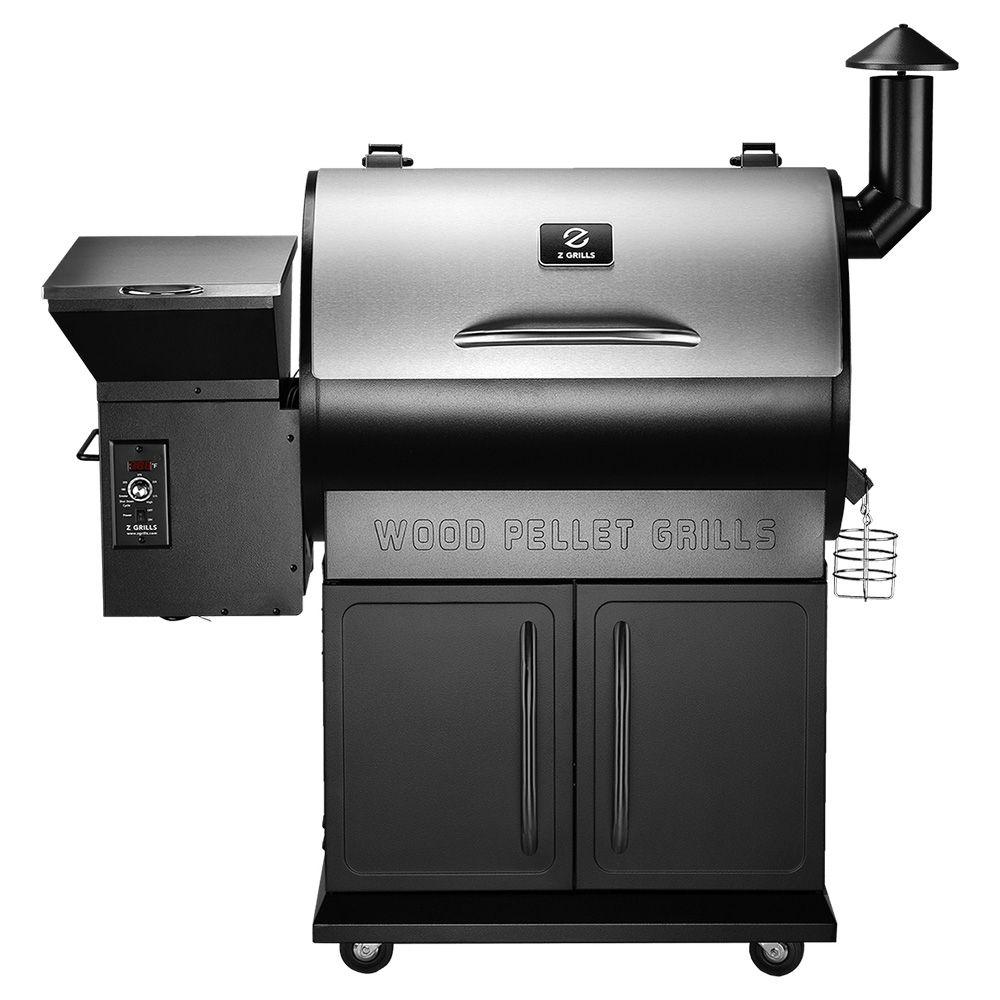 Z Grills Wood Pellet Grill, 2018 New Model ZPG-700E, 8 in ...
