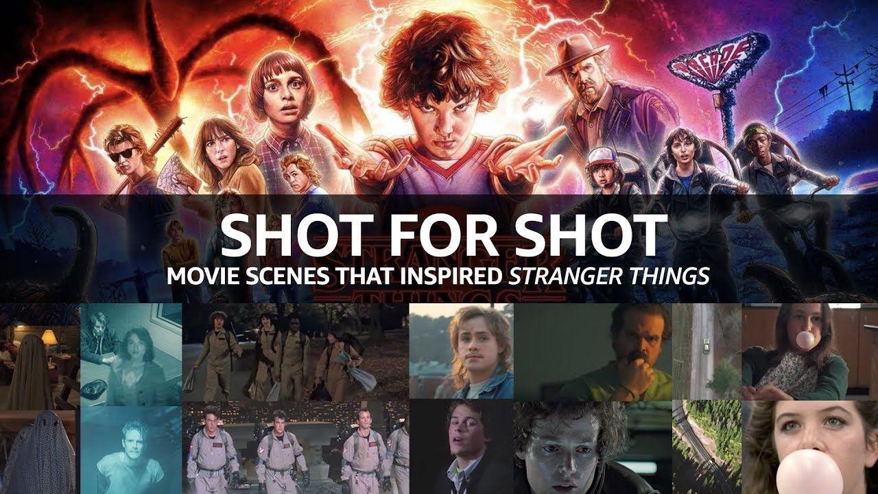 """Shot for Shot Movie Scenes That Inspired """"Stranger Things"""