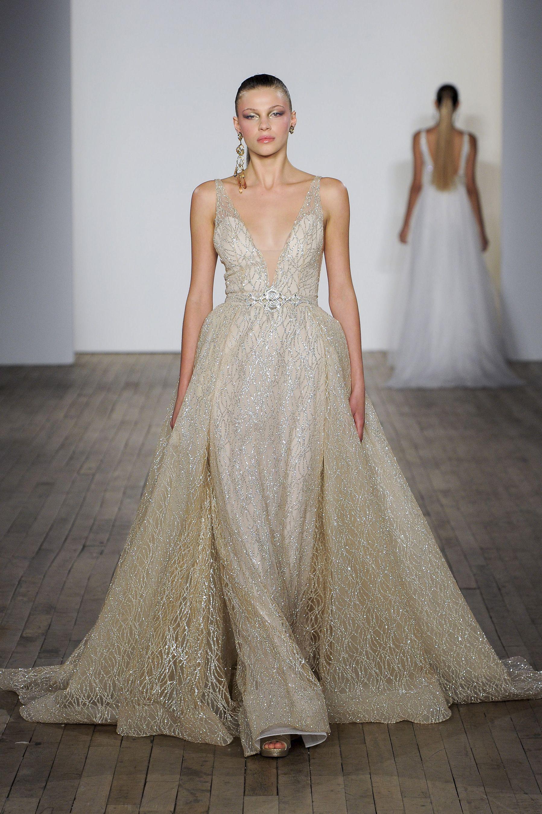 71ad4c0a87b Lazaro Fall 2019 Bridal Fashion Show in 2019