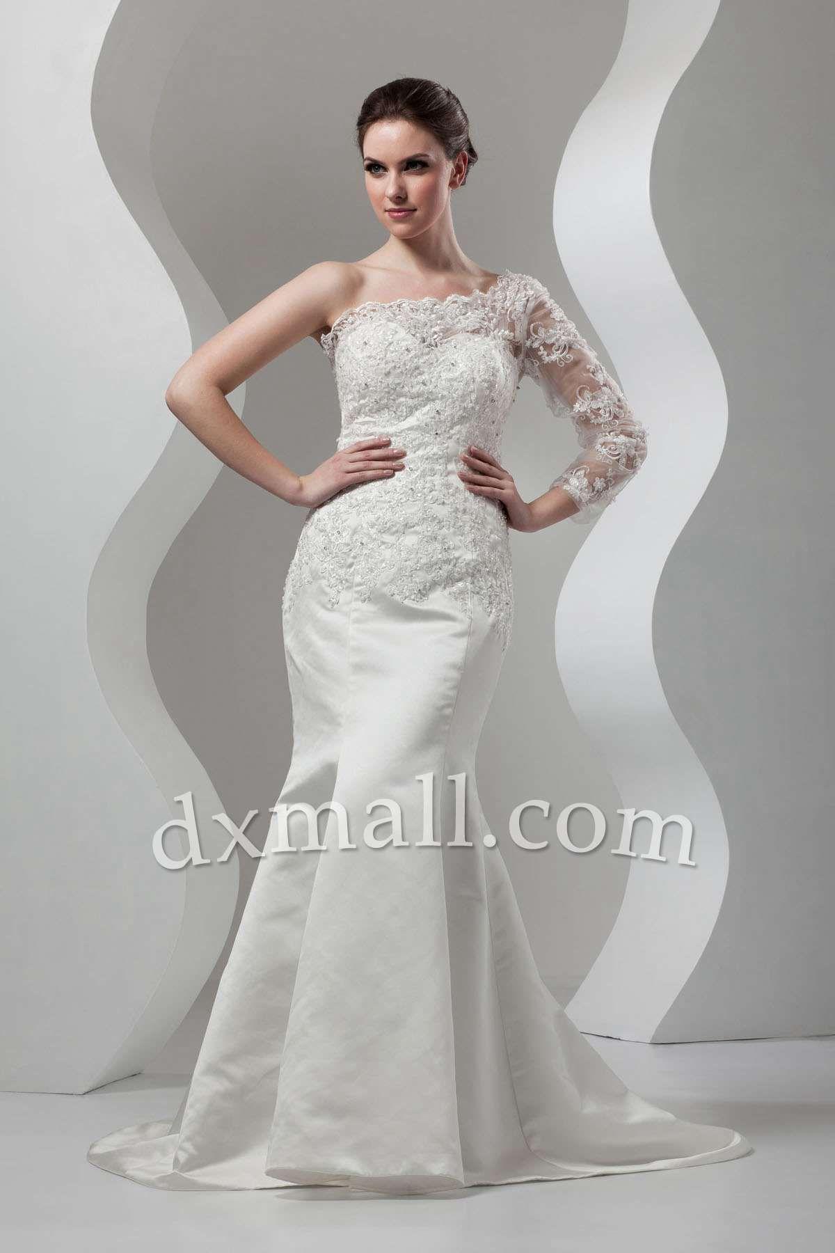 Trumpetmermaid wedding dresses picture shown court train lace
