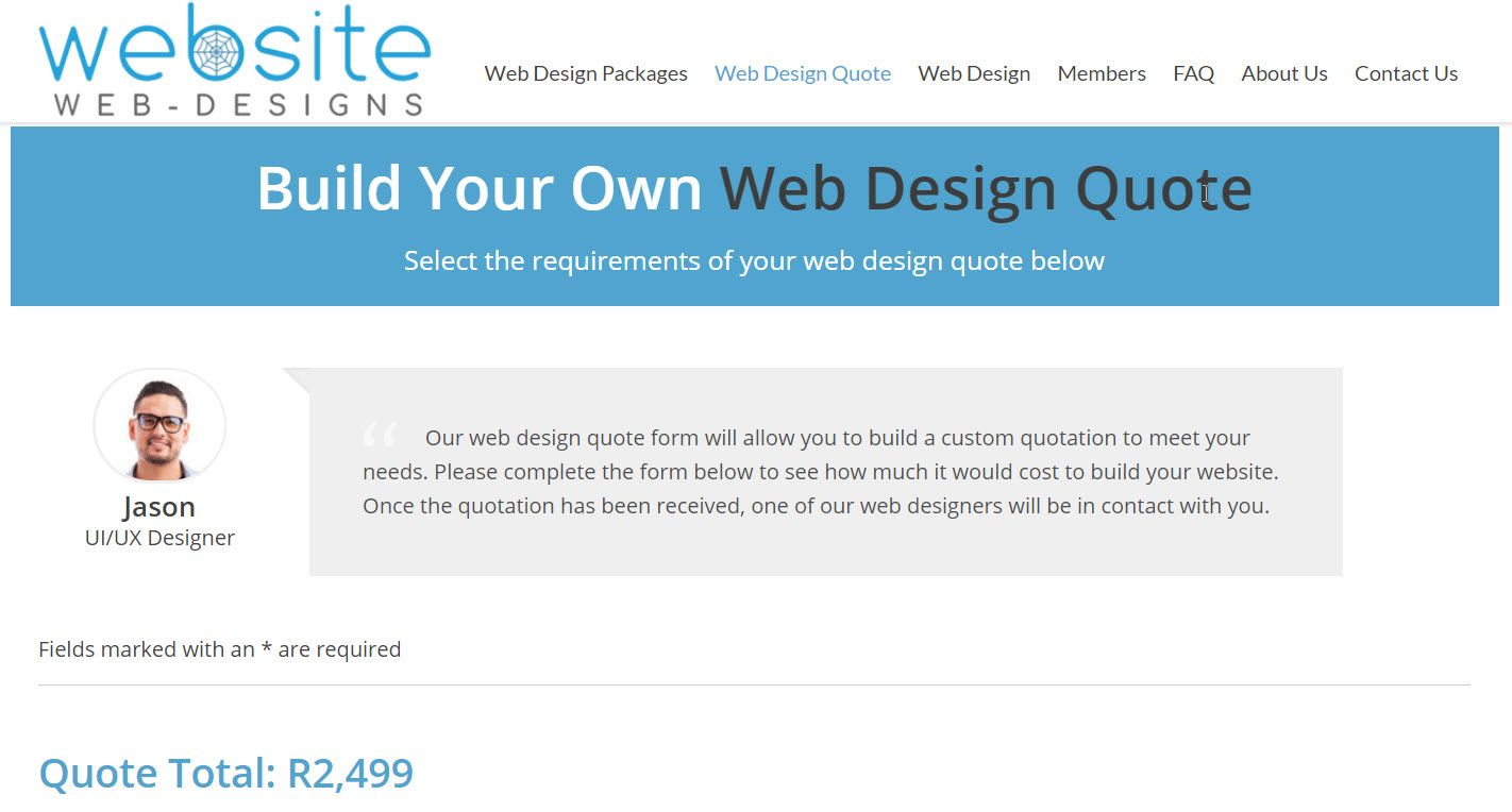 How To Quote A Website 10 Best Web Design Company Images On Pinterest  Website Design
