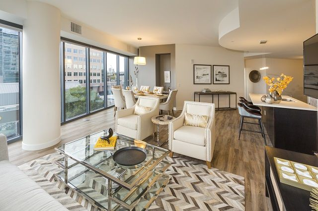Living Area Citreous Luxurious Bedrooms 2 Bedroom Apartment Luxury Apartments