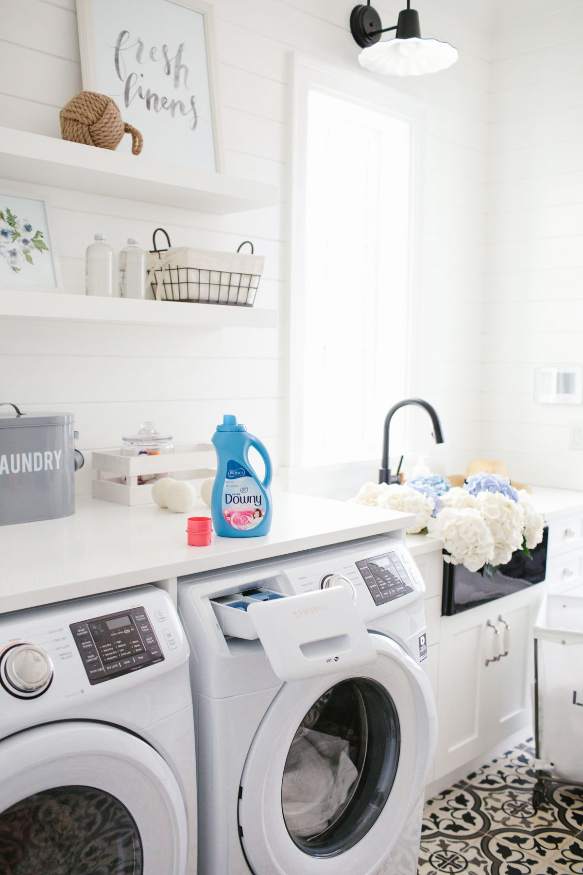 50 Outstanding Black And White Laundry Room Ideas With Images