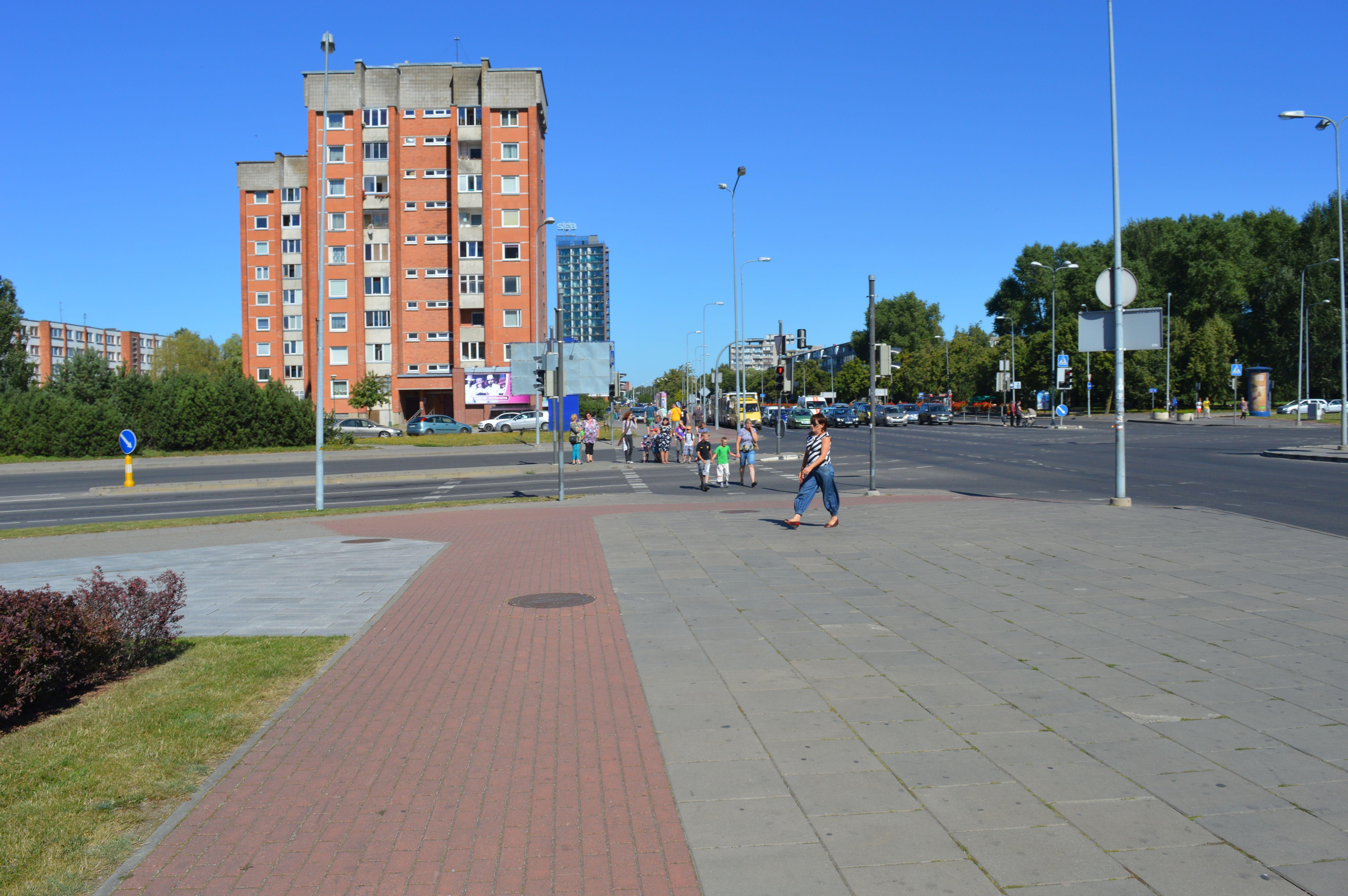 Район Акрополиса - Клайпеда.