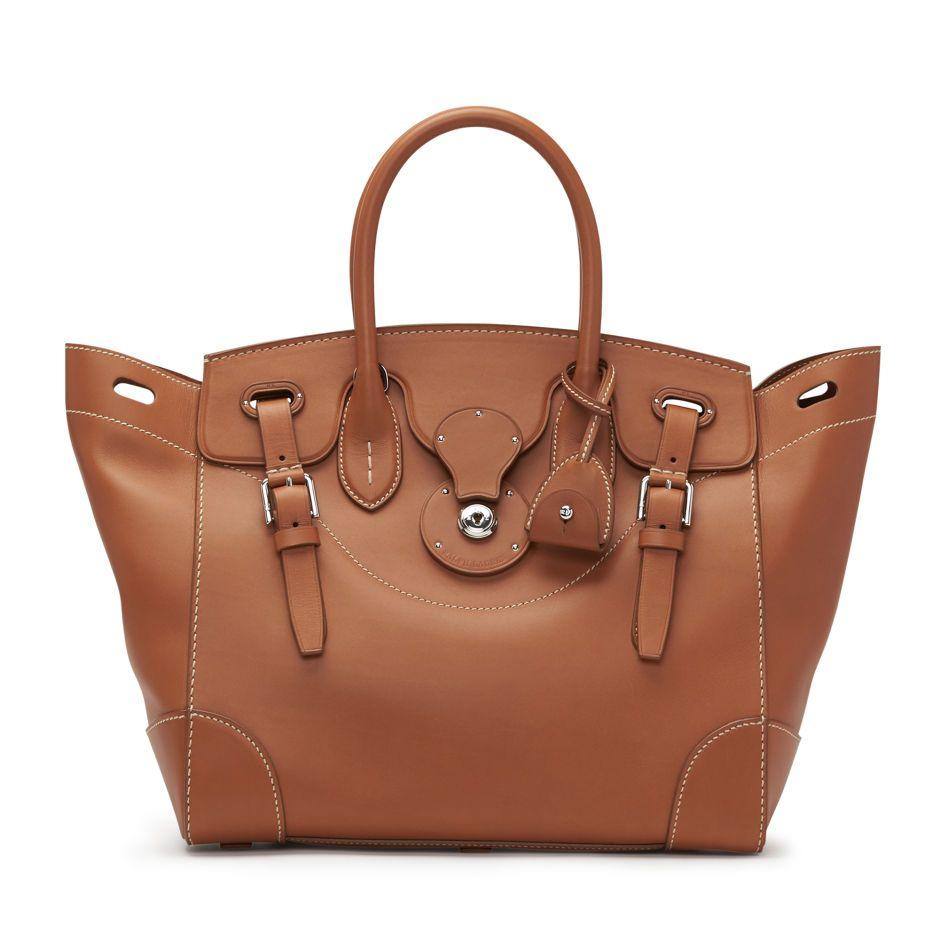 b310f753f8 Calfskin Ricky 33 | wear | Bags, Ralph lauren bags, Satchel handbags