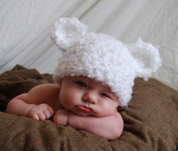 Gorritos para bebés con orejas - Imagui  65d54bd4759