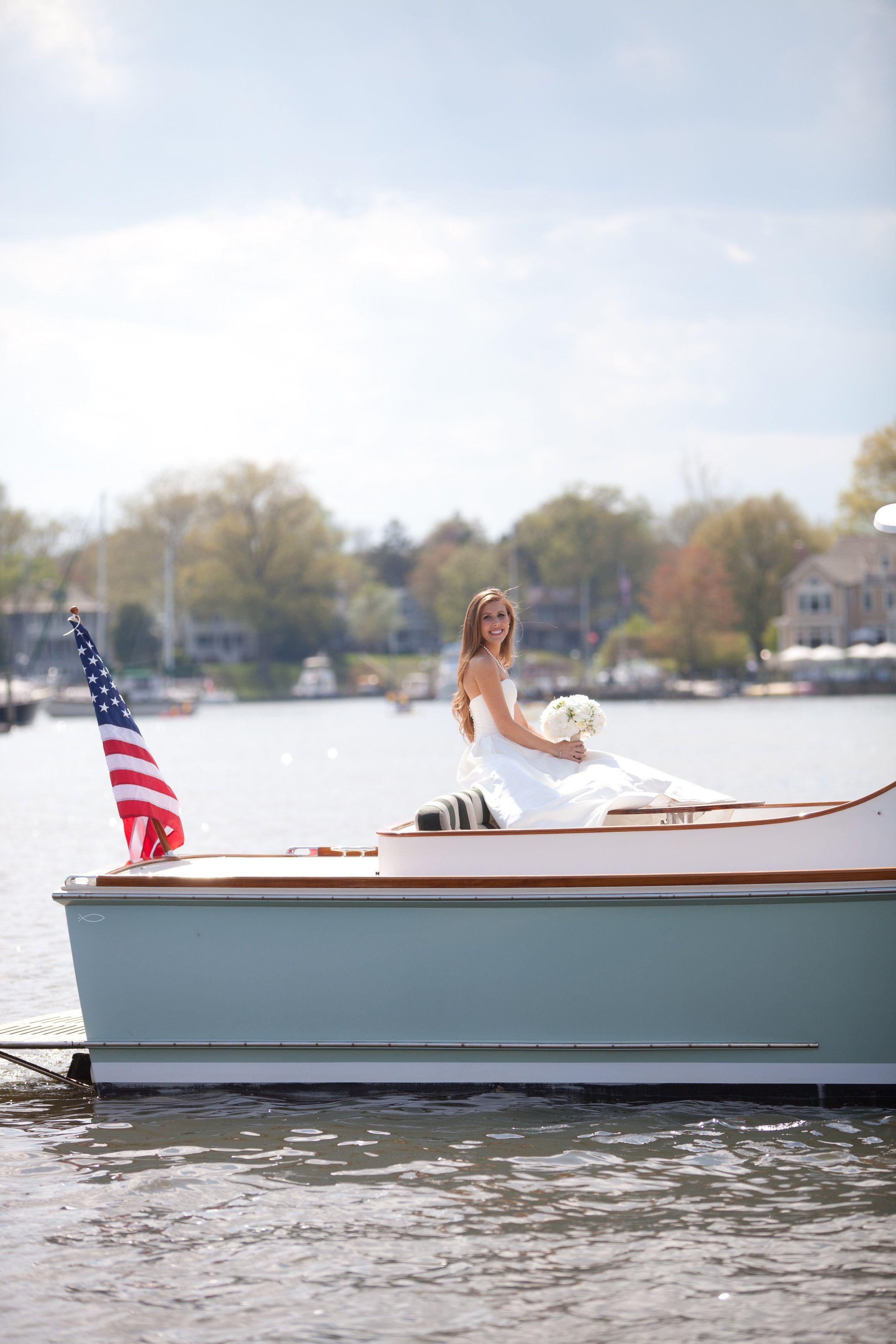 Yacht wedding decoration ideas  Nautical Annapolis Spring Wedding  Yacht club Wedding and Wedding