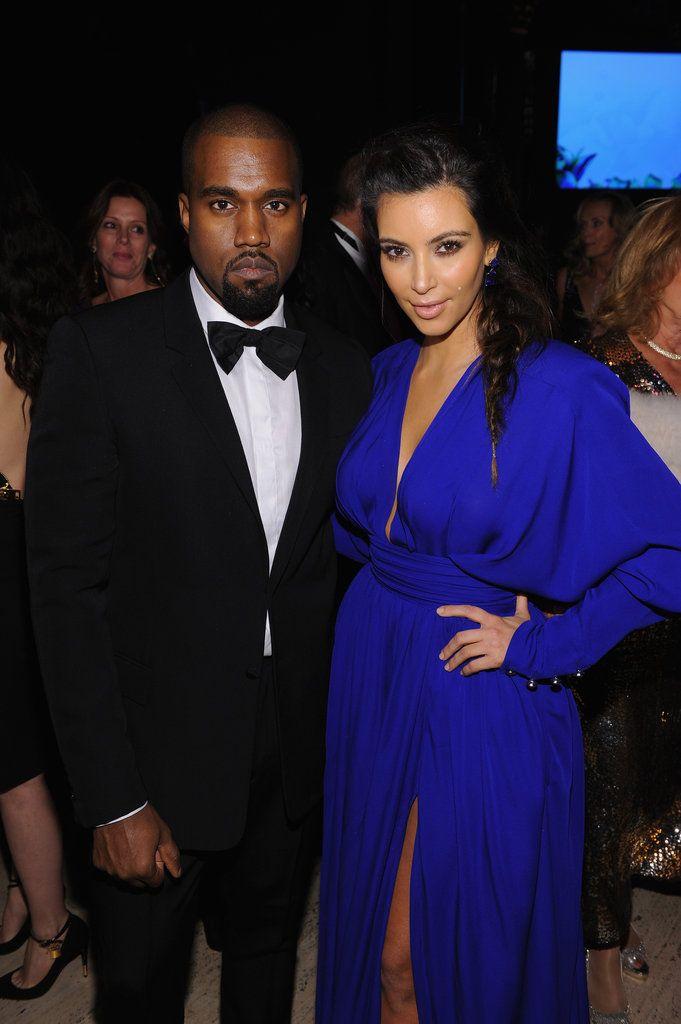Kim Kardashian And Kanye West Dress To The Nines For An Nyc Bash With Images Kim Kardashian And Kanye Kim And Kanye Kardashian