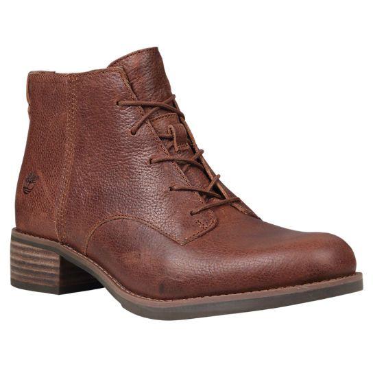 Womens Boots Timberland Beckwith Lace Chukka Dark Brown