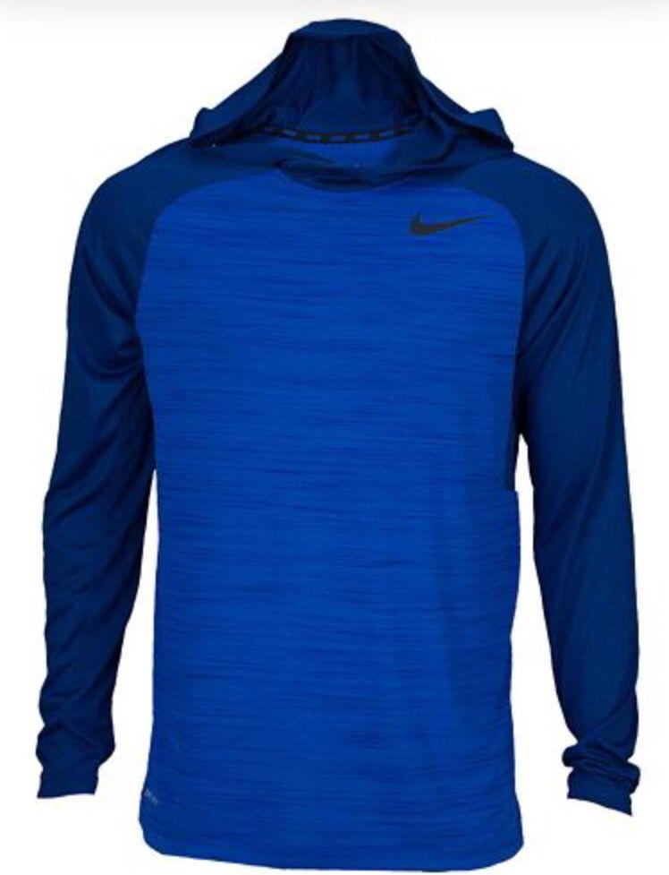 Nike dri fit training long sleeve hoodie nike gear long