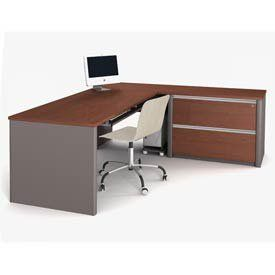 Bestar Bestar Connexion Executive Desks By Bestar 1259 00