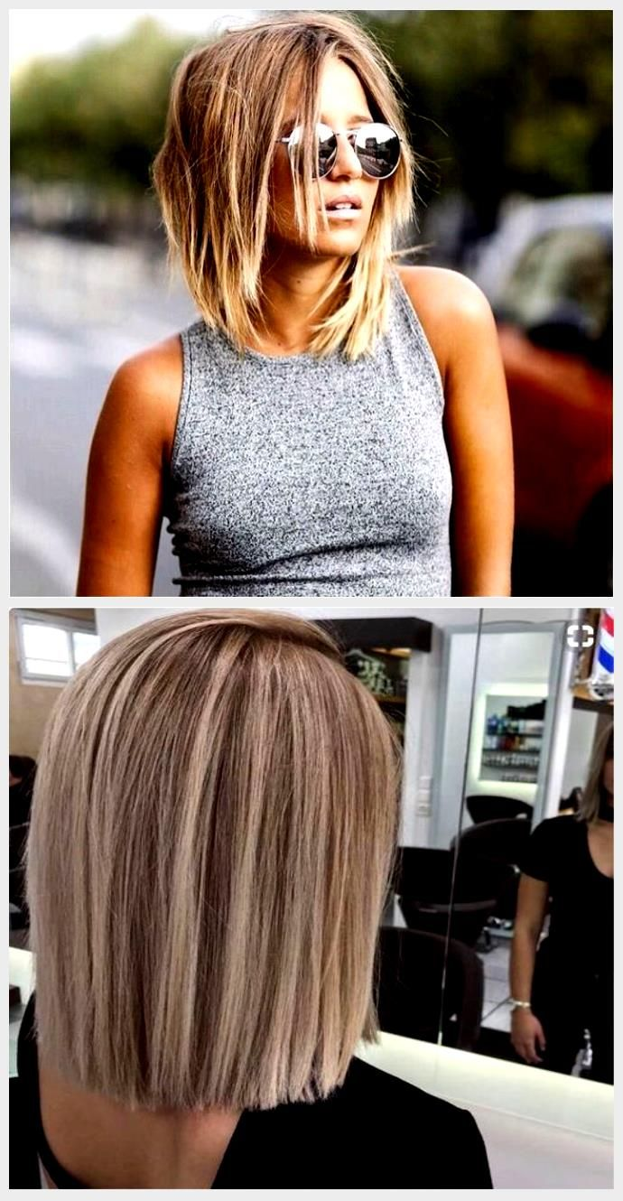 best 25 neck length hairstyles ideas